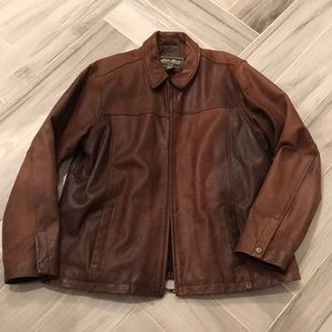 Eddie Bauer vintage leather coat